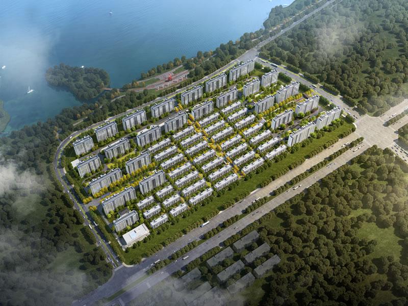 晨金房地产钱资湖大道北侧、明湖路西侧地块一、地块二