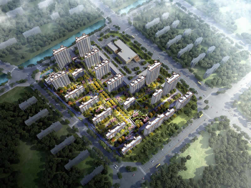 城南九玺项目一期二标段总承包工程