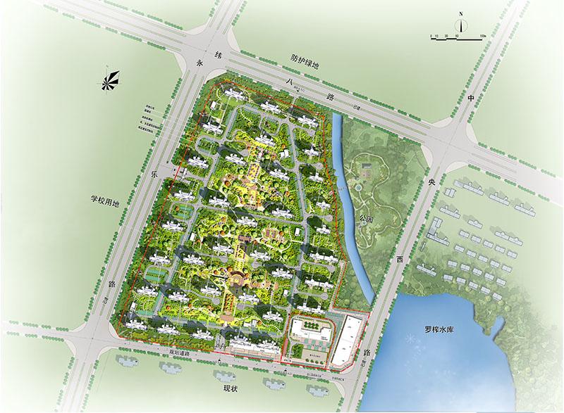 碧桂园·奥能罗马世纪城C地块一标段总承包工程
